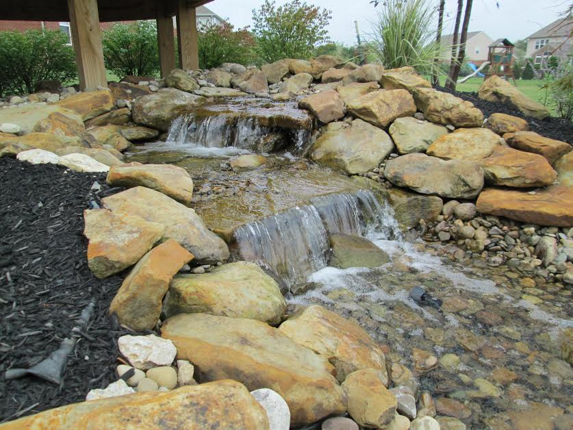 Installation Of Outdoor Water Ponds Fountains More Cincinnati Oh